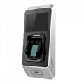 办公内部安全打卡专用指静脉识别智能考勤门禁机 4