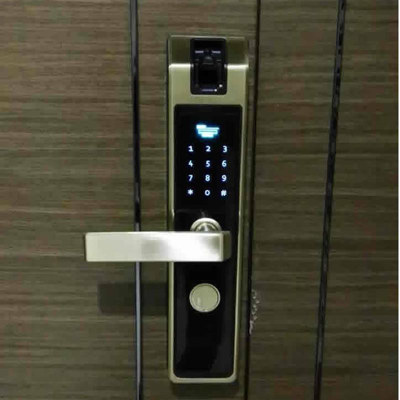 智能家居新款高科技智能硬件指静脉识别智能门锁 1