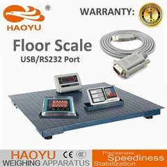 Small Electronic Multifunctional Platform Floor Weighing Scale