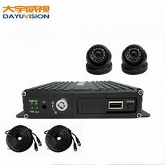 帶2個ahd高清車載攝像頭監控套裝