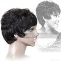short cut all machine made wig 2