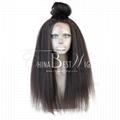 kinky straight virgin hair 360 wig 1