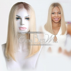 blonde virgin hair wigs
