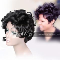 virgin hair all machine made wig