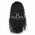 virgin brazilian hair curly wig 2