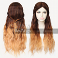 ombre long hair wig 4