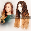 ombre long hair wig 1