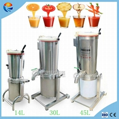 Industrial Tomato Vegetable Fruit Coconut Mango Juice Making Blending Machine