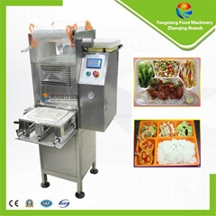 Automatic Fast Food Trays Cups Box Sealing Sealer Machine