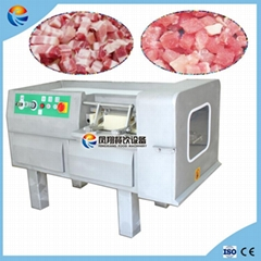 Automatic Frozen Deli Meat Cube Cutting