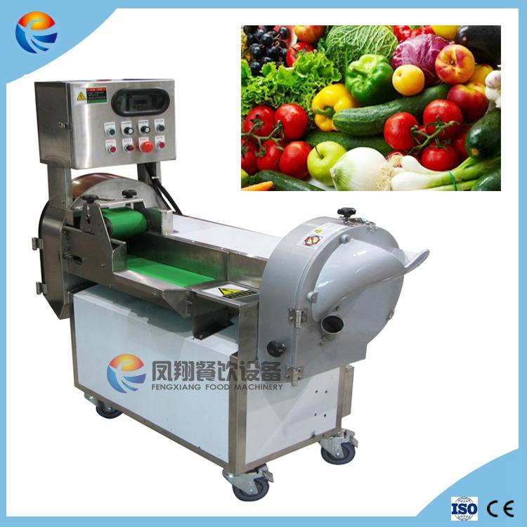 Automatic Pineapple Cabbage Pawpaw Carrot Vegetable Cutting Slicing Machine 1
