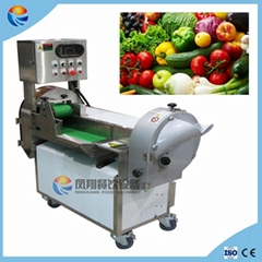 Automatic Pineapple Cabbage Pawpaw Carrot Vegetable Cutting Slicing Machine