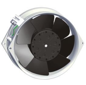 Axial Fan 172x150x55mm metal blades for cooling ventilator  2