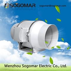 Pipe fan Dia100,125,150,200,250,300mm Multi-Speed Circulation Duct Fan
