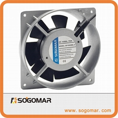 120X120X38mm axial fan plastic for duct 2220VAC