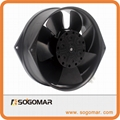 Axial Fan 172x150x55mm metal blades for cooling ventilator  4