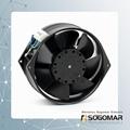 Axial fan 172X150X55mm metal blades  3