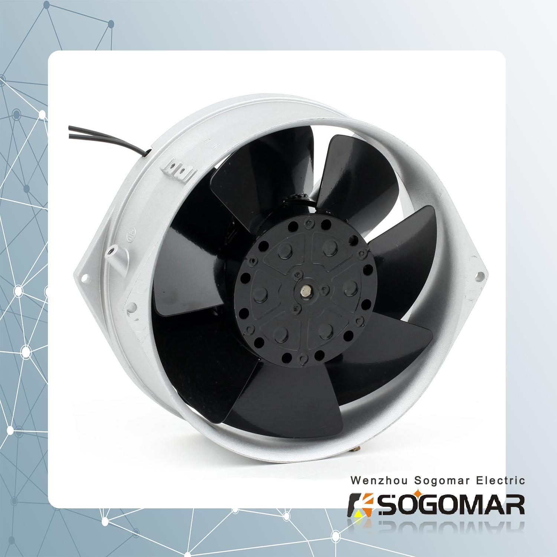 Axial fan 172X150X55mm metal blades  4