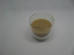 Cangzhou Borosilicate handmade short double wall glass cup