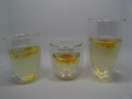 Cangzhou Borosilicate handmade short double wall glass cup  5