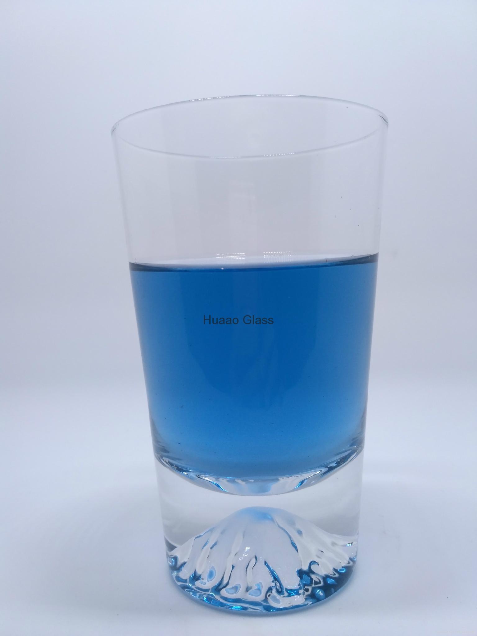 Cangzhou Borosilicate handmade short double wall glass cup  4