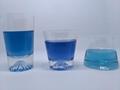 Cangzhou Borosilicate handmade short glass cup Fuji shaped glass wine cups 2