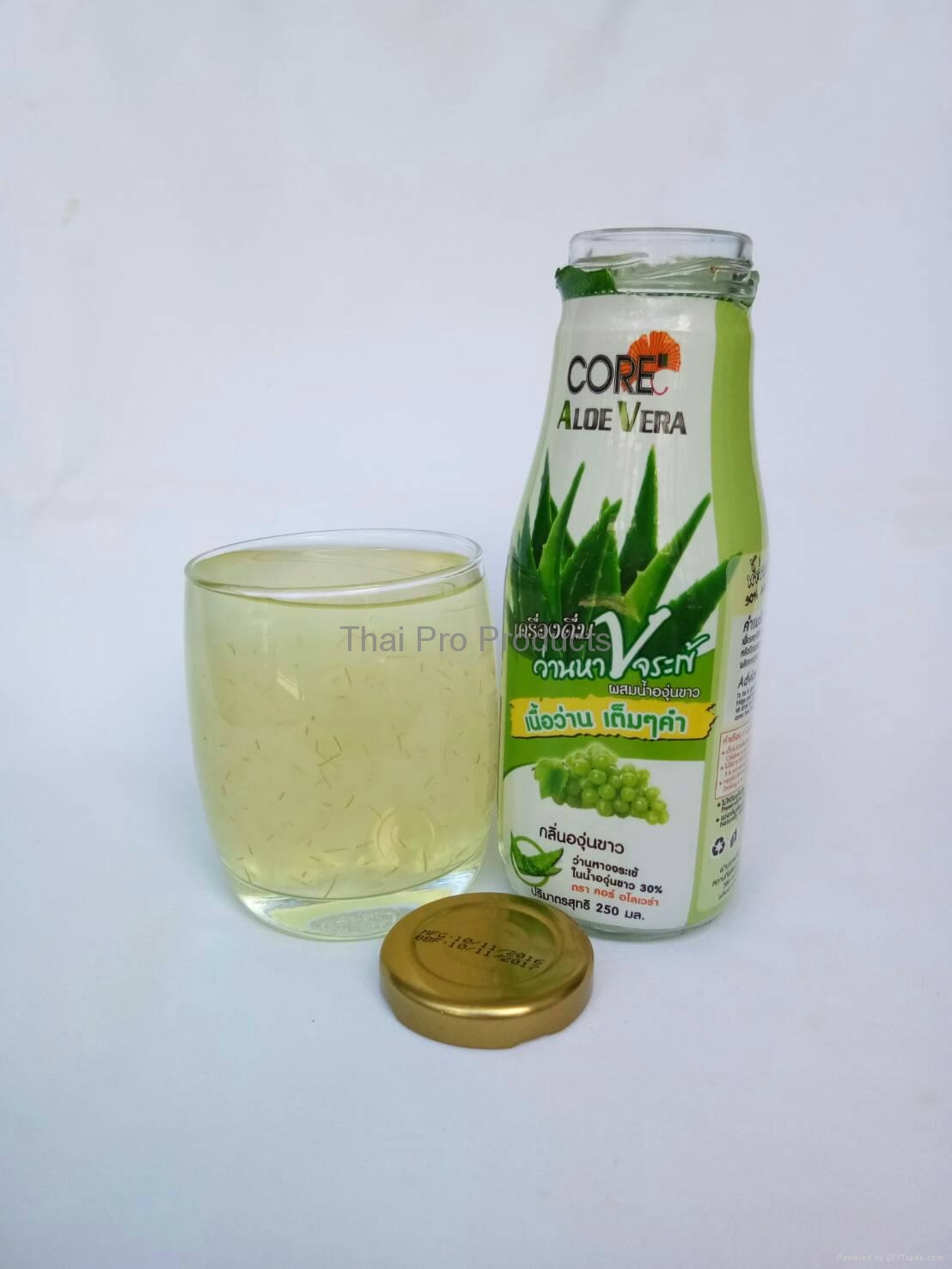 Aloe Vera Drink White Grape Flavored 2