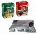 bag in box aluminum aseptic plastic bags juice/wine 3
