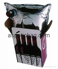 NEW 220L aseptic aluminum foil plastic bag in box for juice