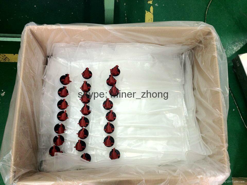 Plastic Aseptic BIB Bag In Box Liquid Pouch 2