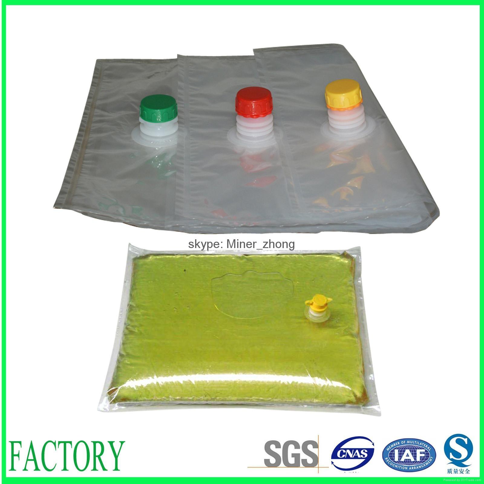 Food grade laminated materials vegetable oil packaging bag 1