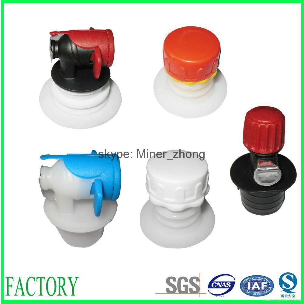 Various styles plastic bag in box spouts 1