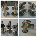 gr2 Titanium pipe fittings 2