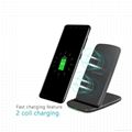 Qi fast wireless charger holder charging