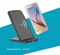 Qi fast wireless charger holder charging smartpones For S8 S7 plus 2
