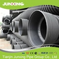Double wall corrugated pipe for sewerage