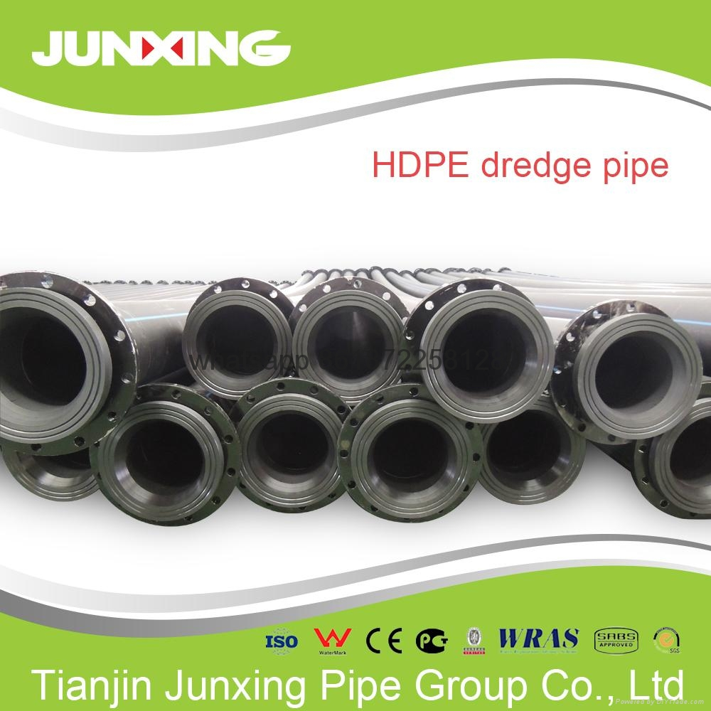 HDPE dreging pipe with Flange 3