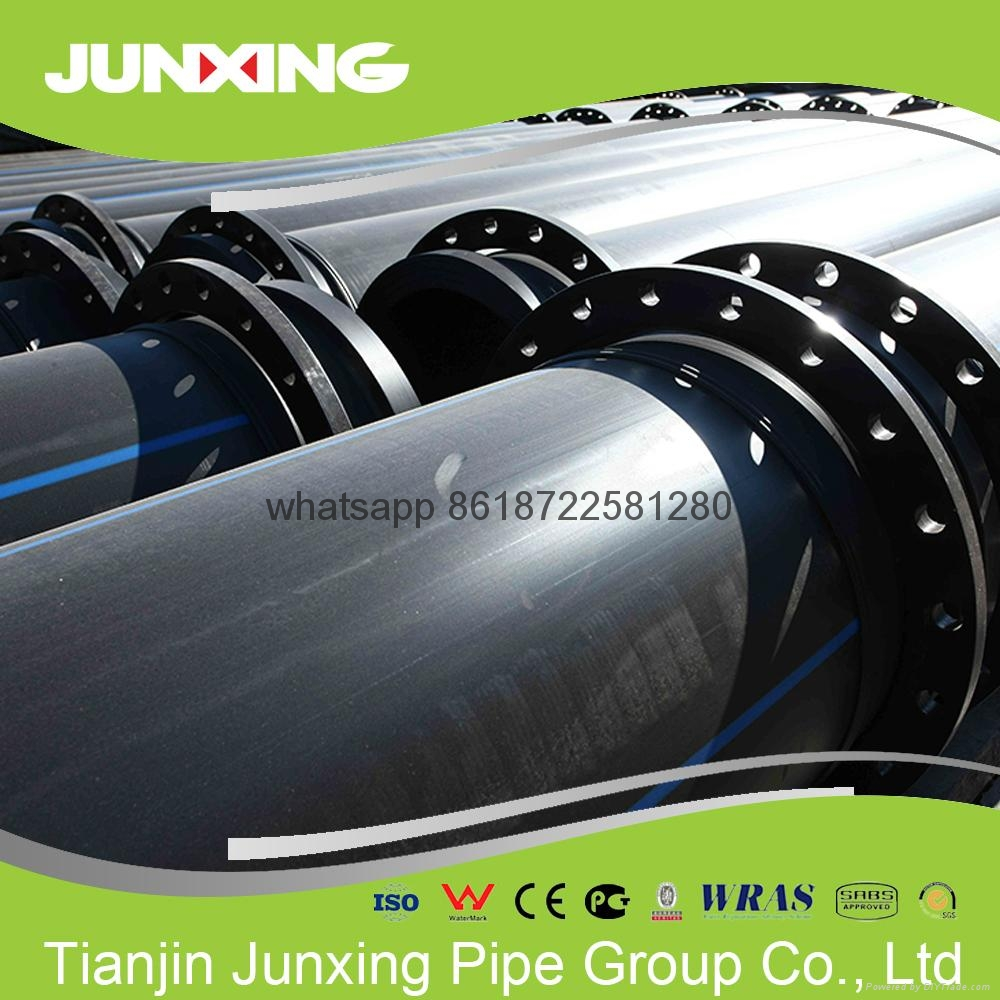 HDPE dreging pipe with Flange 4