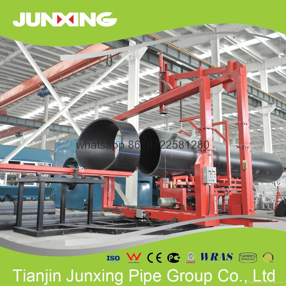 HDPE dreging pipe with Flange 5