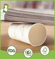 Disposable hot drinking 600ml double wall paper cup custom print 2