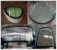 金龍軌道車輛專用玻璃產品