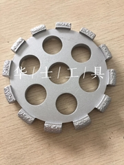 Stone material slot-Diamond-impregnated wheel (Hot Product - 1*)