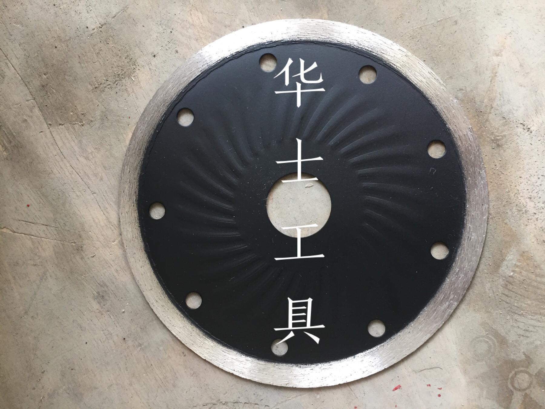 Special for ceramic-Continuous rim wave saw blade