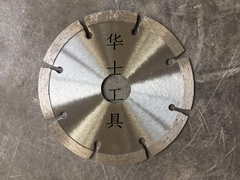 Concrete segmented saw blade