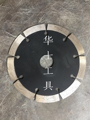Stone segmented saw blade