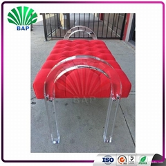 Best Selling Bedroom Furniture Weight Bench Colored Acrylic Bench Sex Sofa Chair