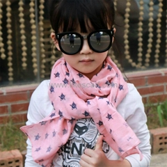 Soft Spring Autumn Unisex Kids Children Scarf Wrap Wholesale