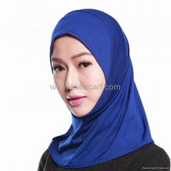 Soft Spring Autumn Plain Color Muslim Hijab Scarf Supplier