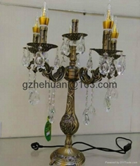 68819 series .Crystal Candle Chandelier(zinc alloy)