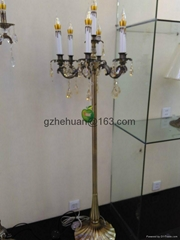 68837 series .Crystal Candle Chandelier(zinc alloy)